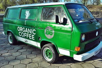 Organic Coffee bus